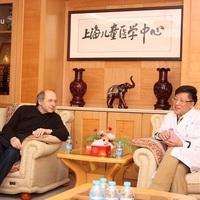 Vendégjáték a sanghaji gyermekkórházban