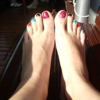 Nyaralós lábujjak