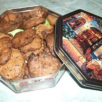 Fahéjas - Csokis keksz