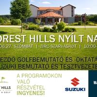 Nyílt nap: ingyenes oktatás- tesztvezetés- Forest Hills