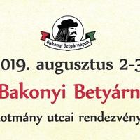 XXI. Bakonyi Betyárnapok - 2019. augusztus 2-3.