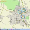 Zirc januári bűnügyi térképe