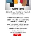 Ruhaosztás - 2021. 07.08., Zirc, Rákóczi tér 1. (volt Nevelési Tanácsadó)