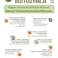 Múzeumok Őszi Fesztiválja az MTM Bakonyi Természettudományi Múzeumában