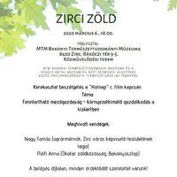 Zirci Zöld - 2020. március 6.