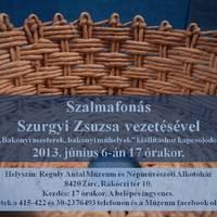 Szalmafonás - Szurgyi Zsuzsa vezetésével