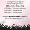 Vendel-napi táncház - Zirc, 2021. október 22., péntek