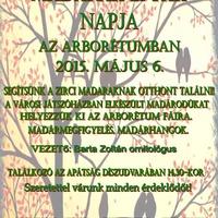 Madarak és fák napja - 2015. május 6.