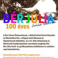 Bér Júlia 100 éves