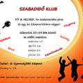 Szabadidő klub középiskolásoknak és általános iskolásoknak