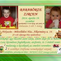 Bababörze - április 19. szombat