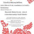 Táncház Bakonybélben - 2020. február 8., szombat, 19 órától