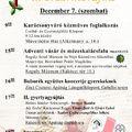 Zirciek Adventje - II. gyertyagyújtás - 2019. december 7. szombat