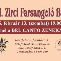 VI. Zirci Farsangoló Bál