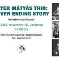 GAYER MÁTYÁS TRIO lemezbemutató koncert