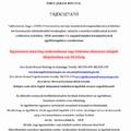 Ügyintézés módja a hivatalban 2020. november 11-től