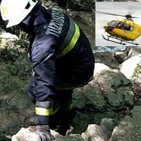 Baleset - 5 méter magas szikláról zuhant le