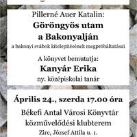 Könyvbemutató: Göröngyös utam a Bakonyalján