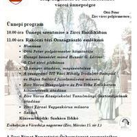 Augusztus 20. Városi ünnepség