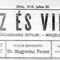 Spanyol betegség pusztított Zirczen - 100 évvel ezelőtt