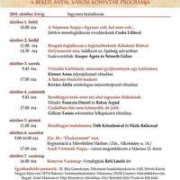 Könyvtári napok - Zirc, 2018. október 1-7-ig
