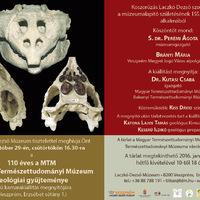 110 éves az MTM BTM geológiai gyűjteménye