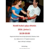 Kezdő kubai salsa oktatás