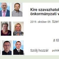 Önkormányzati választások - információk egy helyen