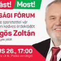 Lakossági fórum - Gőgös Zoltán