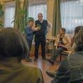 Bemutatkozó beszélgetést tartott Jakab Miklós polgármester-jelölt
