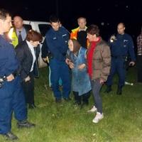 Sikeres mentőakció a Bakonyban – A speciális mentők épségben találták meg az idős asszonyt