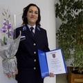 Törzsőrmester hölgy kapta a Zirc Város Rendőre kitüntetést