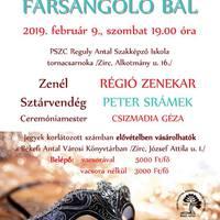 IX. Farsangoló Bál - Zirc, 2019. február 9., szombat 19 óra