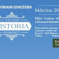 Tavaszi Historia Borkörút