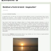 Biciklivel (is) a Fertő-tó körül - 2018-as kiadás