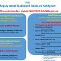 Szeptemberben induló INGYENES felnőttképzések a Reguly szakképzőben