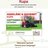 Agrolánc&Gourment Kupa - Forest Hills Biohotel&Golf