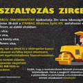Aszfaltozás Zircen - 2021. június 28-tól