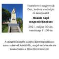 Hősök napi megemlékezés - 2021.05.30.