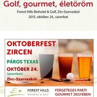 Oktoberfest Zircen - a Forest Hillsben