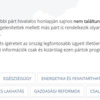 Üdvözlünk Magyarország első független szavazói portálján!