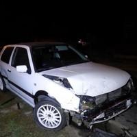 Csúnya balesetet okozott egy részeg Zircen