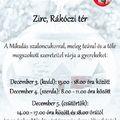 Mikulásház - Zirc, Rákóczi tér, 2019.12. 3-4-5.,