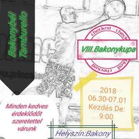 VIII. Bakonykupa - tamburello, Bakonybélben 2018.06.30-07.01