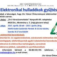 Elektronikai hulladékok gyűjtése