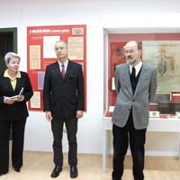 A megyei múzeum első igazgatója volt