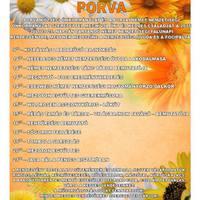 XIV. Falunap és Nemzetiségi nap - Porva