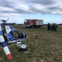 Légi közlekedési baleset Zircnél
