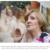 Fehérné Turi Máriának tizenhat önálló kiállítása volt már