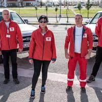 Zirci doktornő a Magyar Vöröskereszt H-HERO csapatában